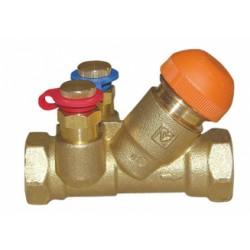 Zawory regulacyjne strefowe, z regulacją termostatyczną